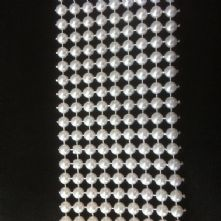 Round Pearl Band Ivory